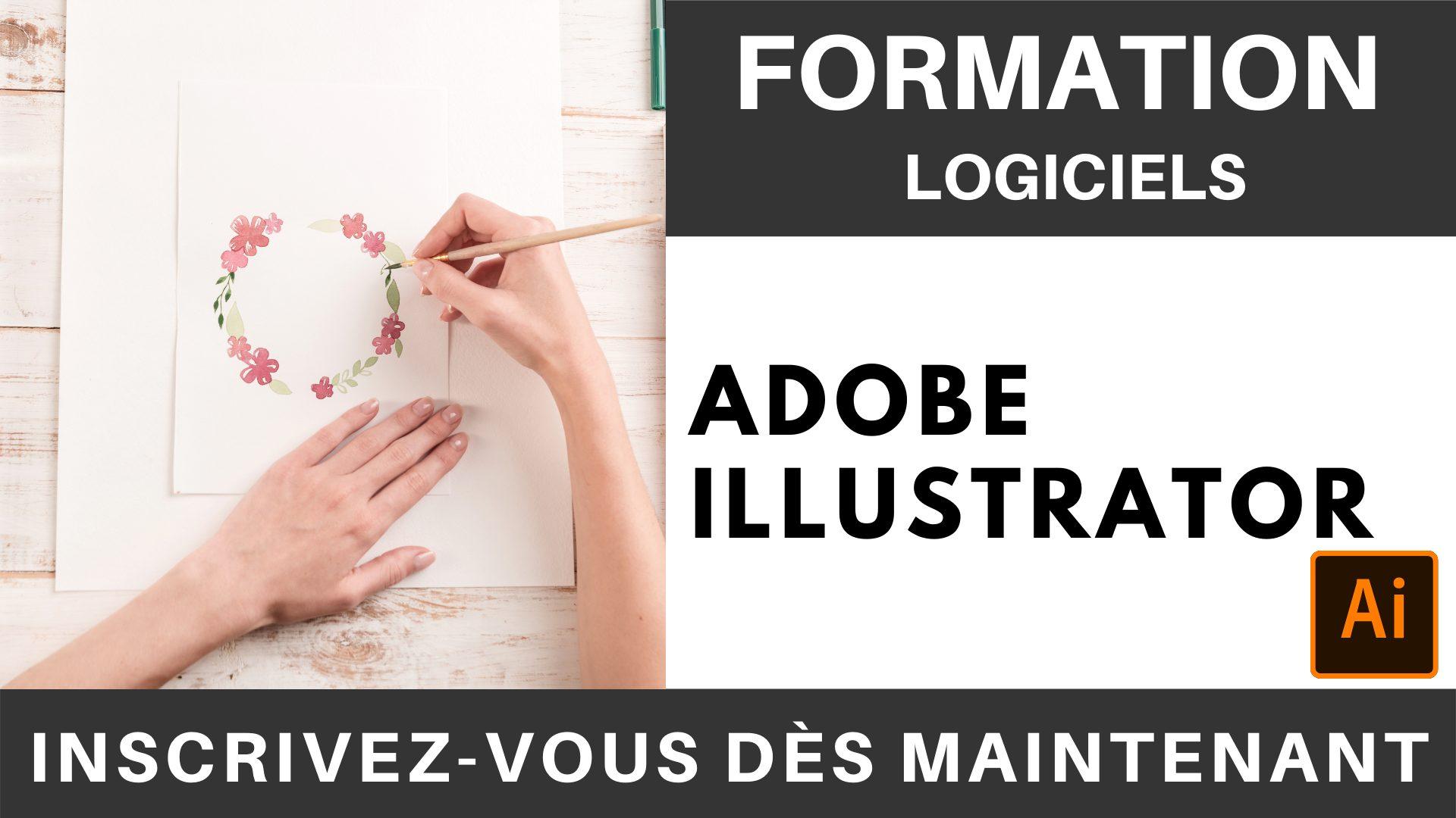 Formation LOGICIEL - Adobe Illustrator - Niveau débutant intermédiaire - 2 jours (1)