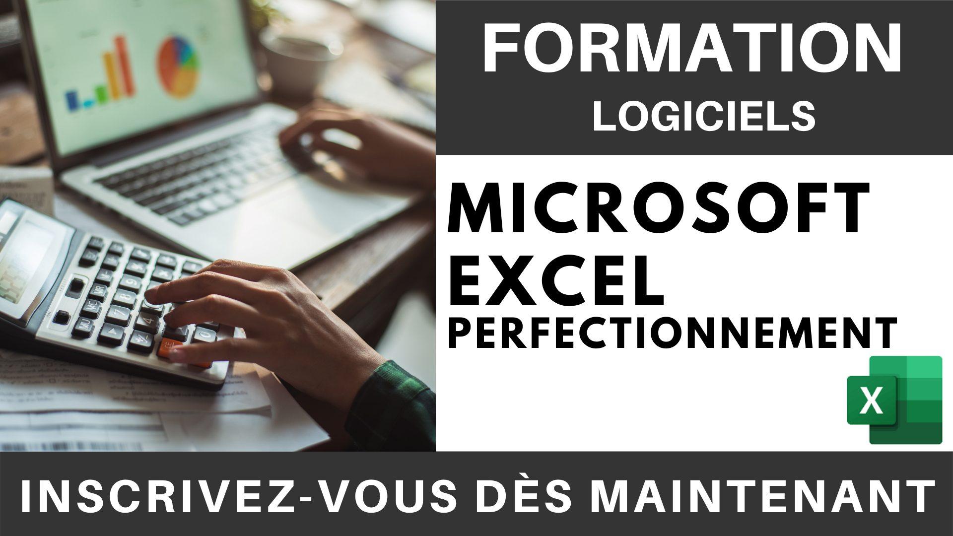 Formation LOGICIEL - Microsoft Excel Perfectionnement