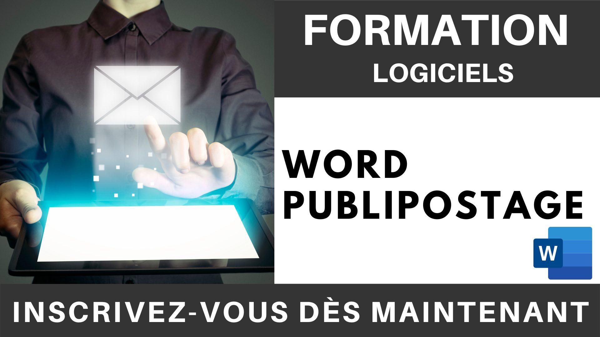 Formation LOGICIEL - Word, Publipostage