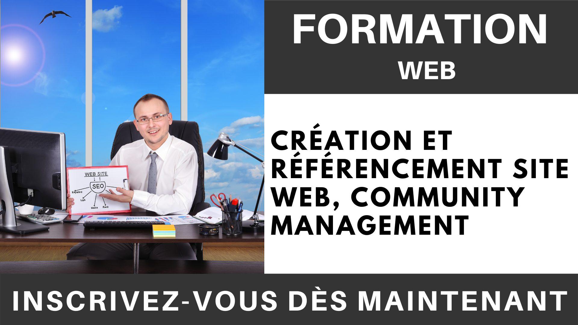 Formation WEB - Création et référencement site web, Community Management (1)