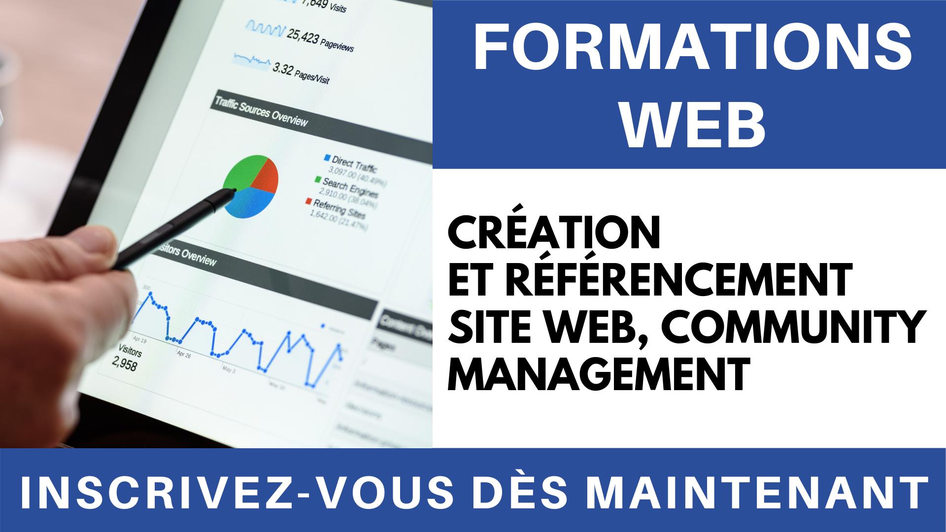 Vidéo-Formation Création-et-référencement-site-web-Community-Management