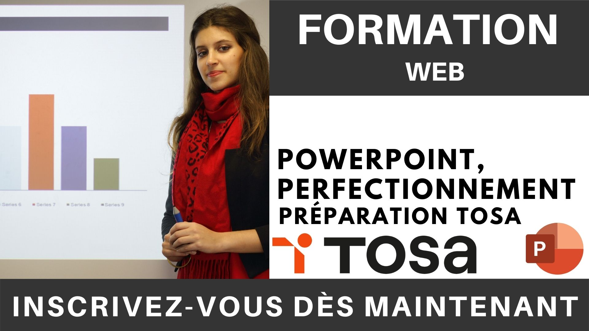 Formation web - PowerPoint, Perfectionnement - Préparation TOSA (1)