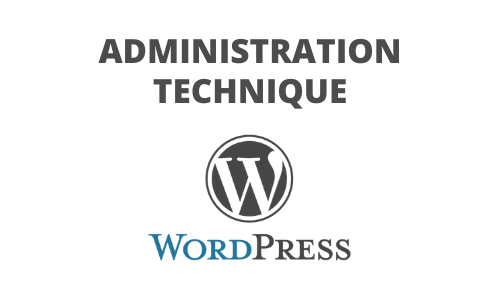 Formation Administration technique Wordpress