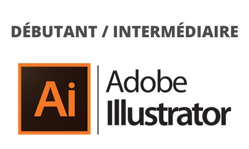 Formation Adobe Illustrator débutant intermédiaire