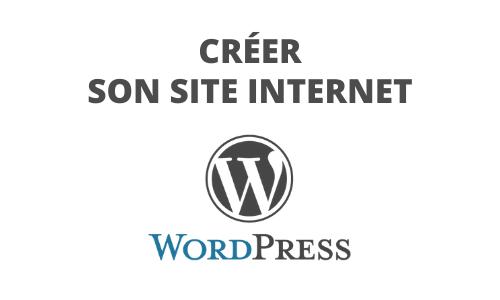 Formation Créer son site Internet Wordpress