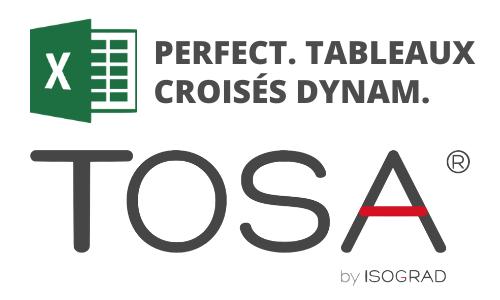 Formation Excel Perfectionnement Tableaux croisés dynamiques Préparation TOSA