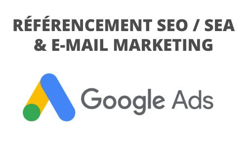 Formation Référencement SEO SEA et e-mail Marketing