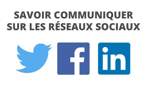 Formation Savoir communiquer sur les réseaux sociaux