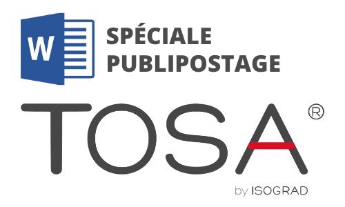 Formation Word Spéciale Publipostage Préparation TOSA